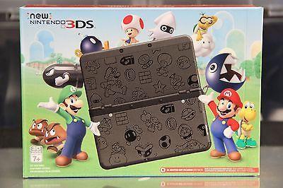 New Nintendo 3DS Super Mario Black Edition 2016 Black Friday https://t.co/8Q9qH9IAGh https://t.co/l03JJT19fr
