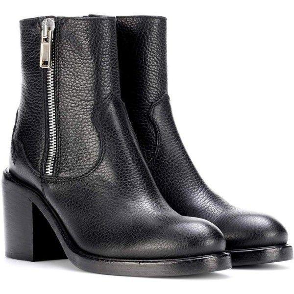 McQ Clapton Zip Boot Black Women