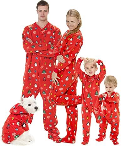 Buy Matching Christmas Print Pajamas and more from Big Feet Pajama for up to 38% Discount [ #christmas #bigfeetpajamas #deal #offers #christmasdeals #christmasoffers ]