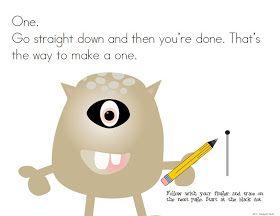 KindergartenWorks: monster numbers {tools to learn 0-10}