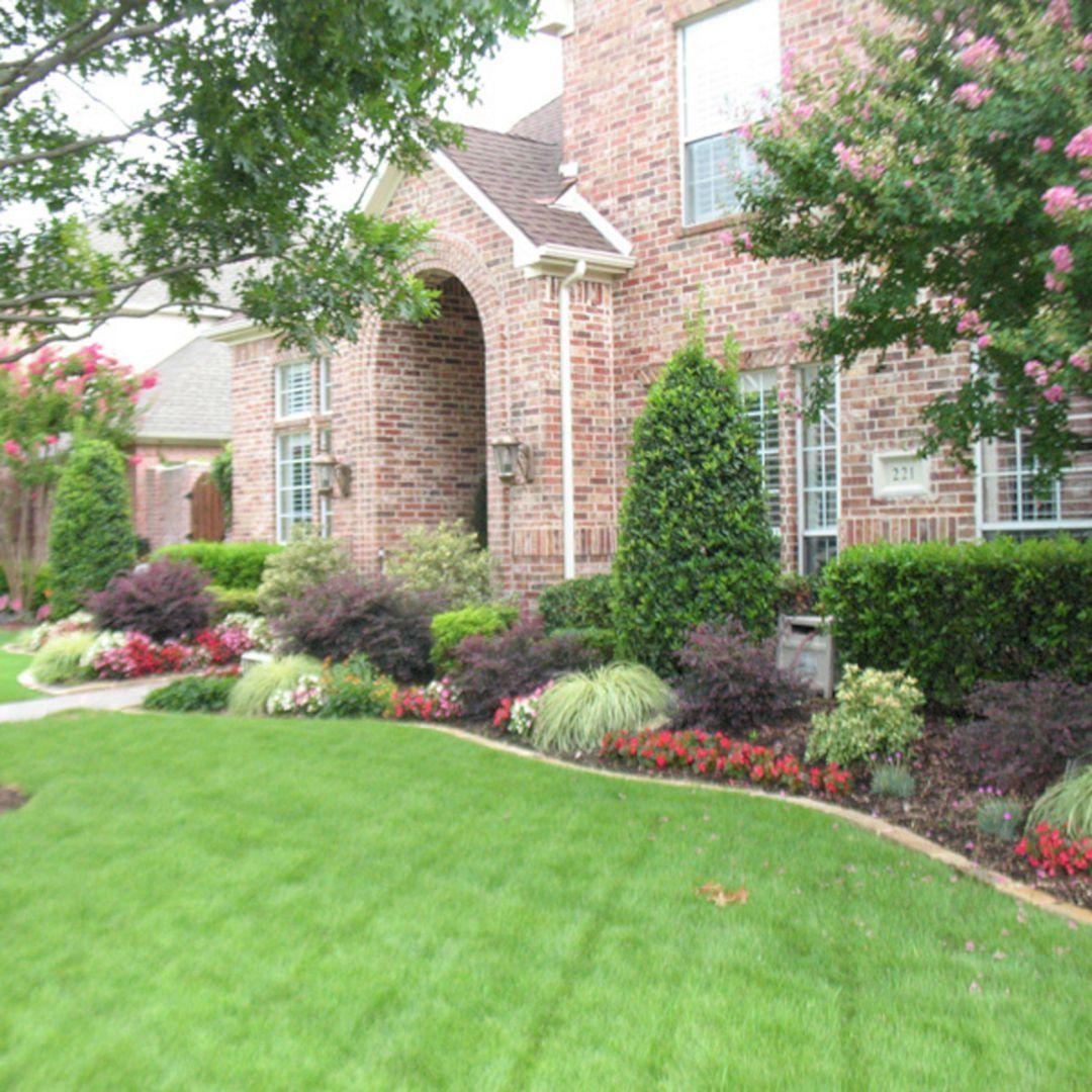 45 Gorgeous Backyard Landscape With Edging Lawn Design Ideas