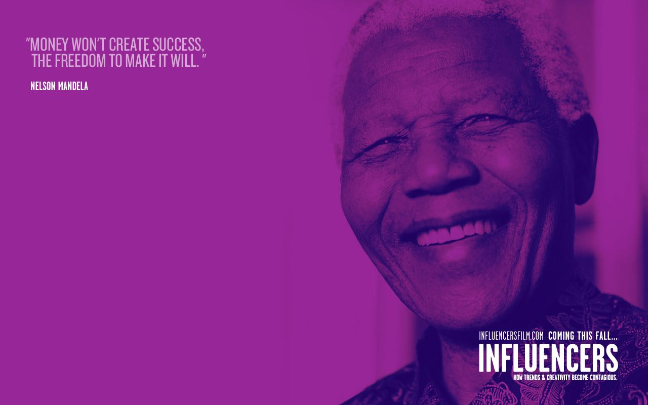 Short Movie Quotes Picked Influencers  Nelson Mandela The O'jays And So