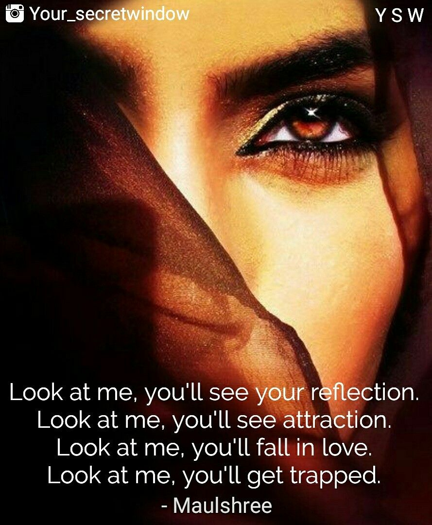 Eyes have so much depth love is buried deep Relationship quotes for her beautiful
