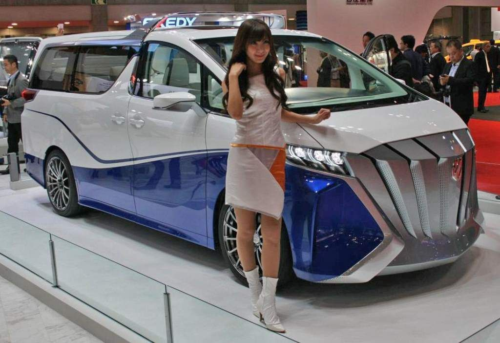 Toyota Alphard 2020 Design Release And Price Concept Cars Tokyo Motor Show Toyota Alphard