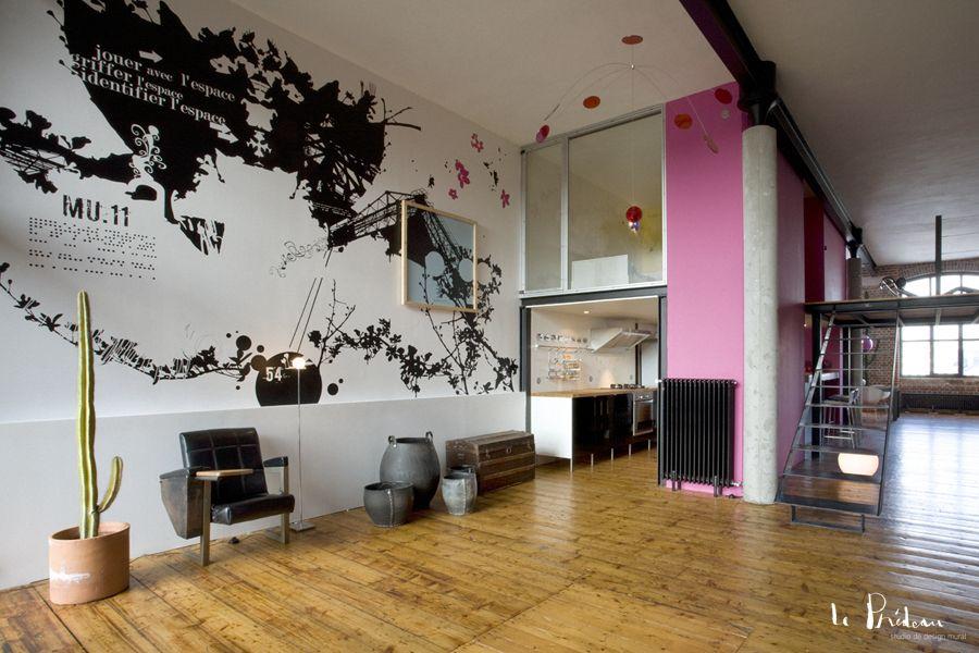 Design mural pour les particuliers by Le Prédeau | papiers de mode ...