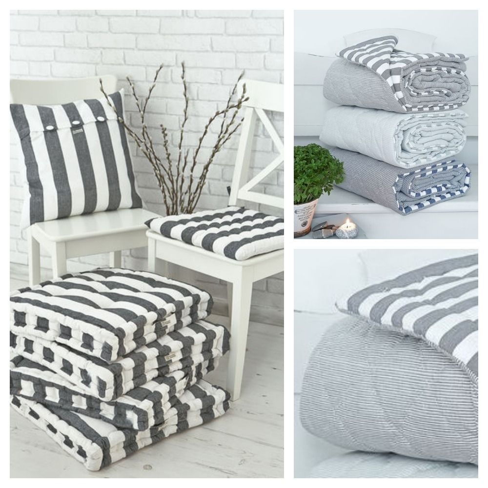 Superbe Striped Picnic Blankets And Cushions | Mad About The House