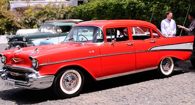 The 1957 Bel Air Sedan Mr Diljeet Titus Classic Cars Vintage Classic Cars Chevrolet