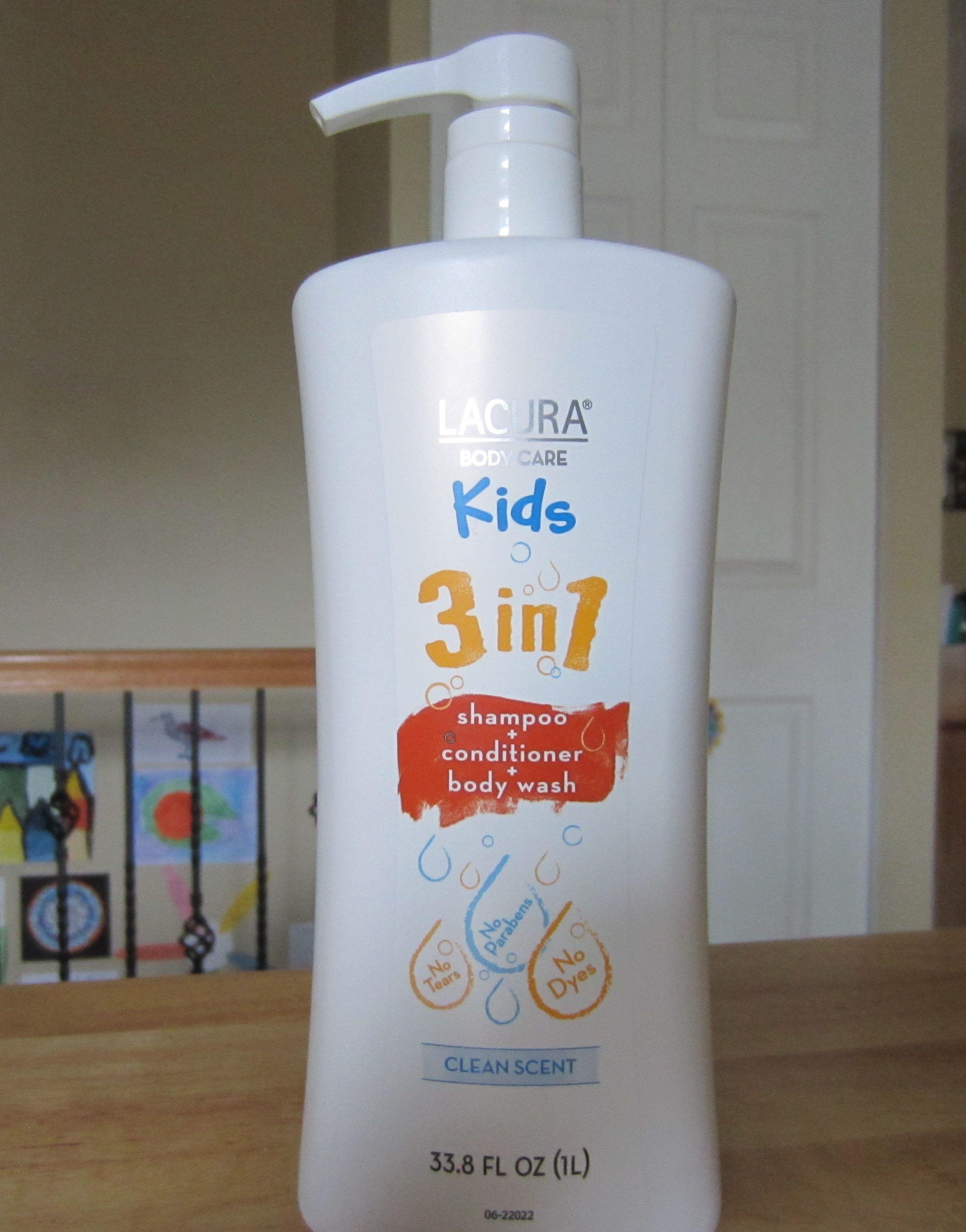 Lacura Body Care Kids 3 In 1 Shampoo Conditioner Body Wash