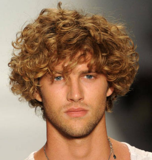 Astounding 1000 Images About Men39S Long Curly Hairstyles 2015 On Pinterest Short Hairstyles Gunalazisus