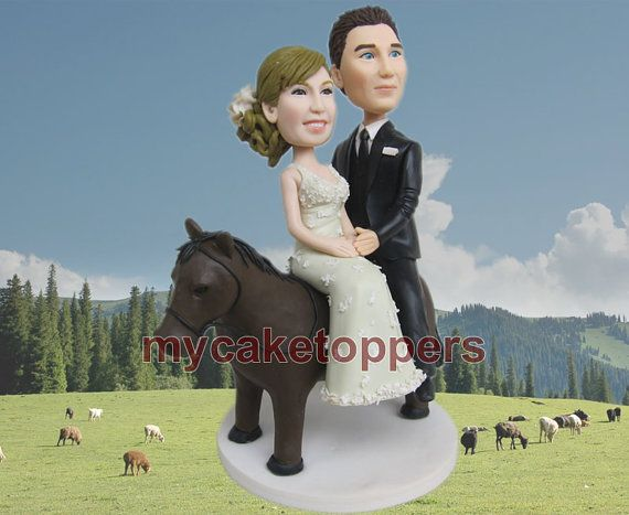 cake toppers by dealeasynet on Etsy, $120.00