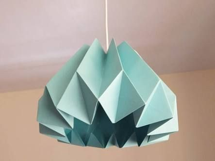 Image result for origami lampshade diy paper folding pinterest image result for origami lampshade diy mozeypictures Image collections