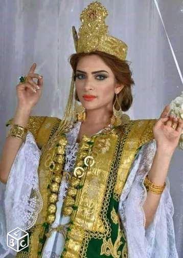 Keswa tunisienne tenue traditionnelle mariée Vêtements Bouches-du-Rhône -  leboncoin.fr