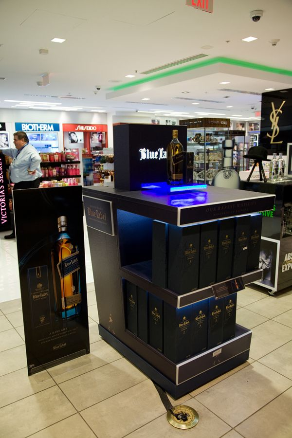Exhibition Stand Cases : Pin by digiprint on johnnie walker blue at miami international