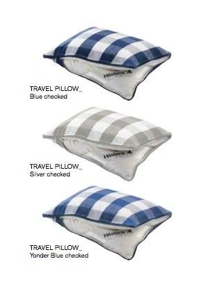 Look at our travel pillows! Now in three colors!  You can store your glasses or a book in there, during your flight!
