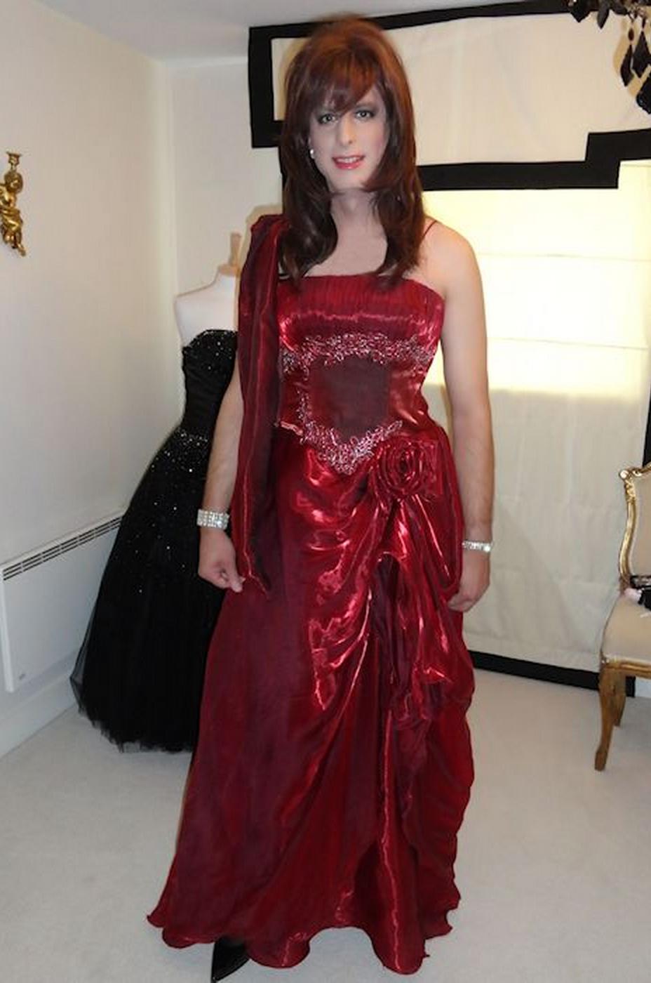 from Hugo transgender dress gown cocktail