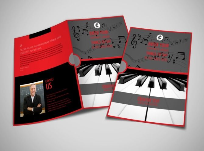 Piano Lessons Bi Fold Brochure Template 2   bifold brochures     Design your own piano lessons brochure online with MyCreativeShop   easily  print it anywhere for a one of a kind experience