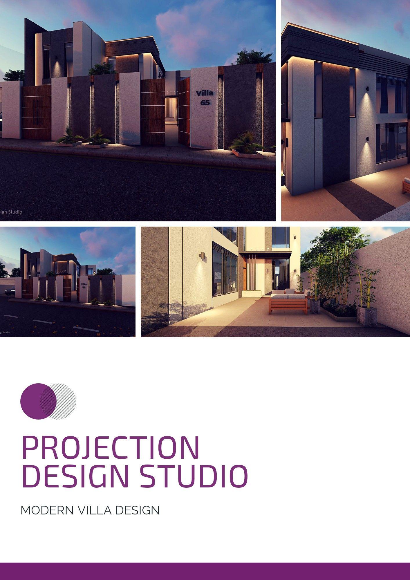 تصاميم فلل حديثة Modern Villa Design Villa Design Architecture