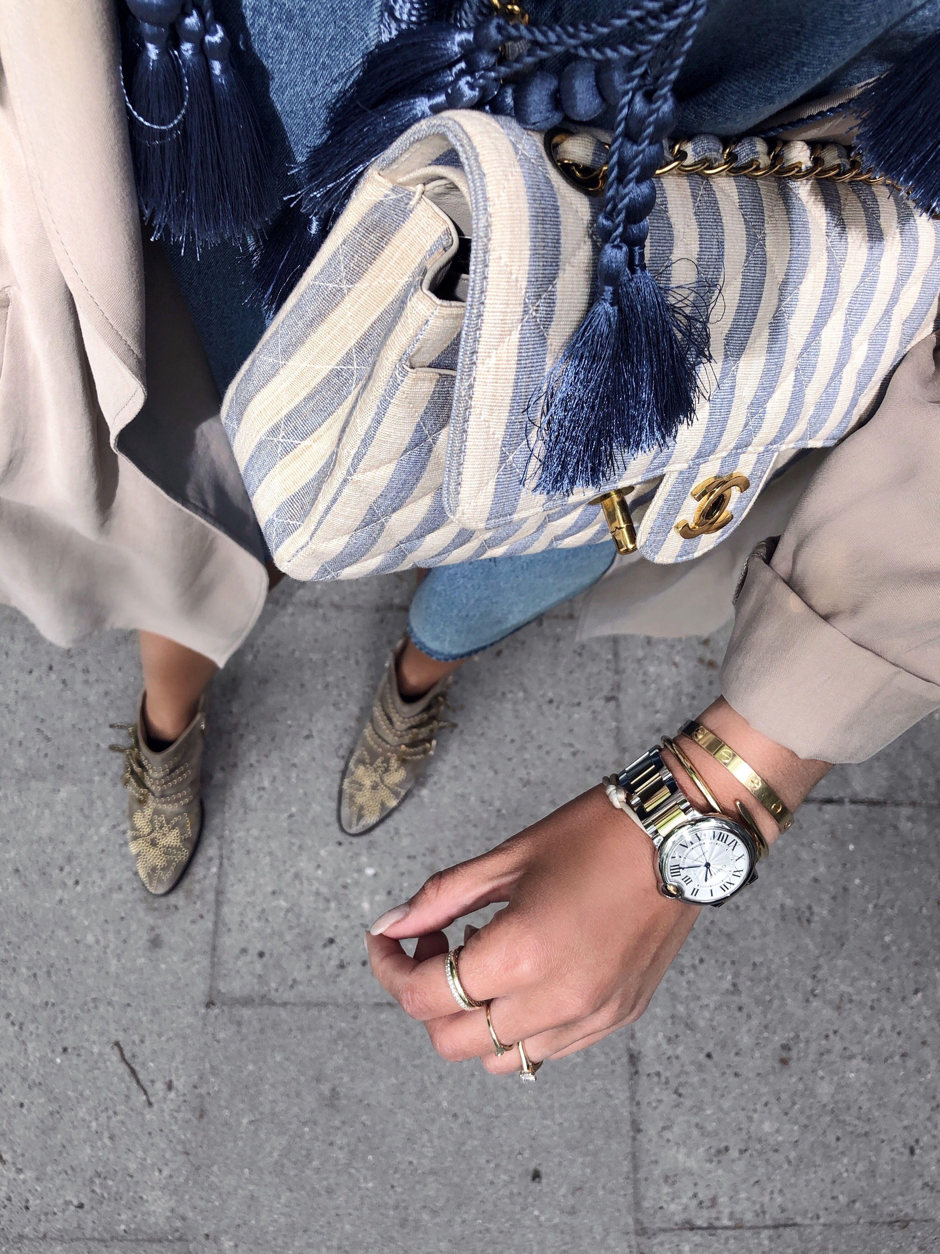 4630e3d194 Aylin Koenig   Chanel Vintage bag   Chloé susanna boots   Aylin ...