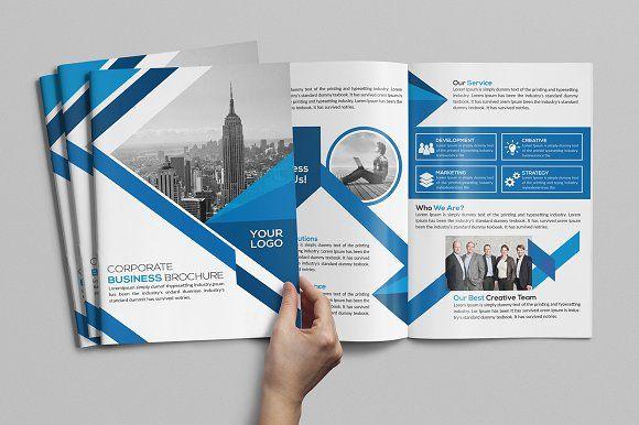 Bifold Brochure With Images Brochure Brochure Design Template