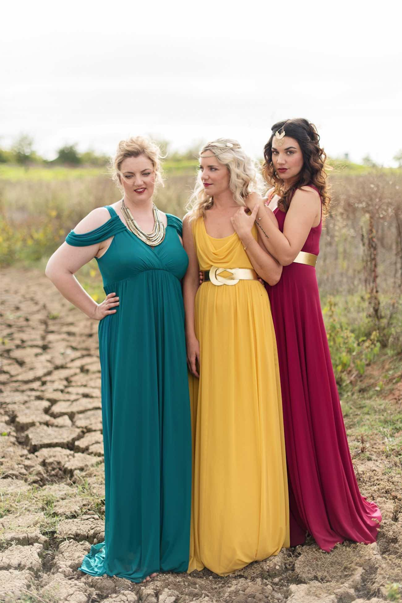 How to mix match winter or autumn bridesmaid dresses like a boss how to mix match winter or autumn bridesmaid dresses like a boss ombrellifo Images