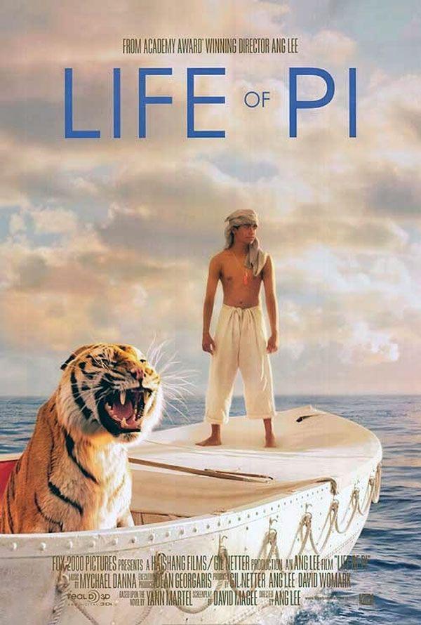 Life Of Pi Filmes Filme 3d Cartaz De Filme