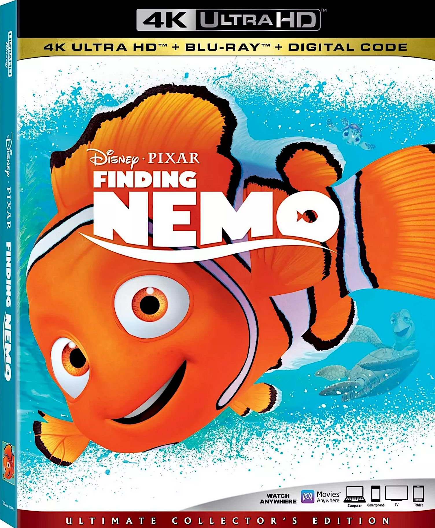 FINDING NEMO 4K BLURAY (DISNEY) Finding nemo, Nemo