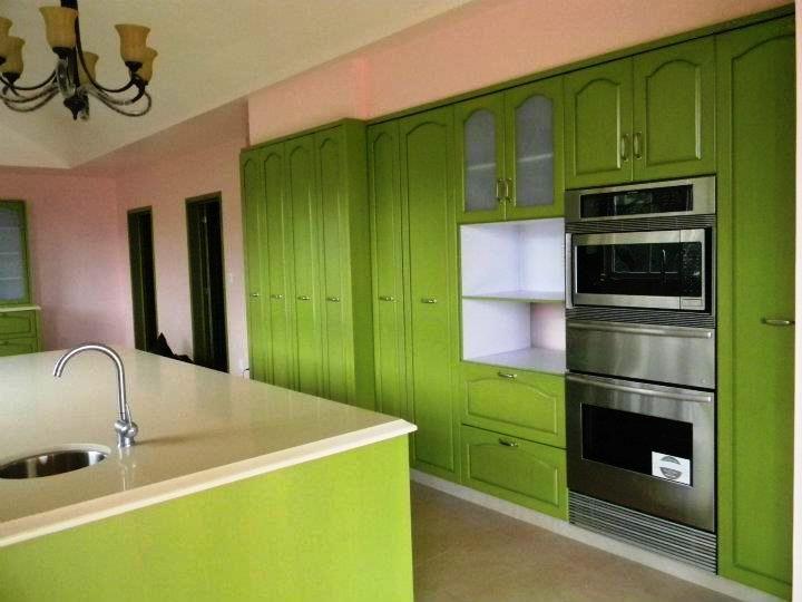 Cbg cocinas integrales hogar dise o color verde for Disenos cocinas integrales