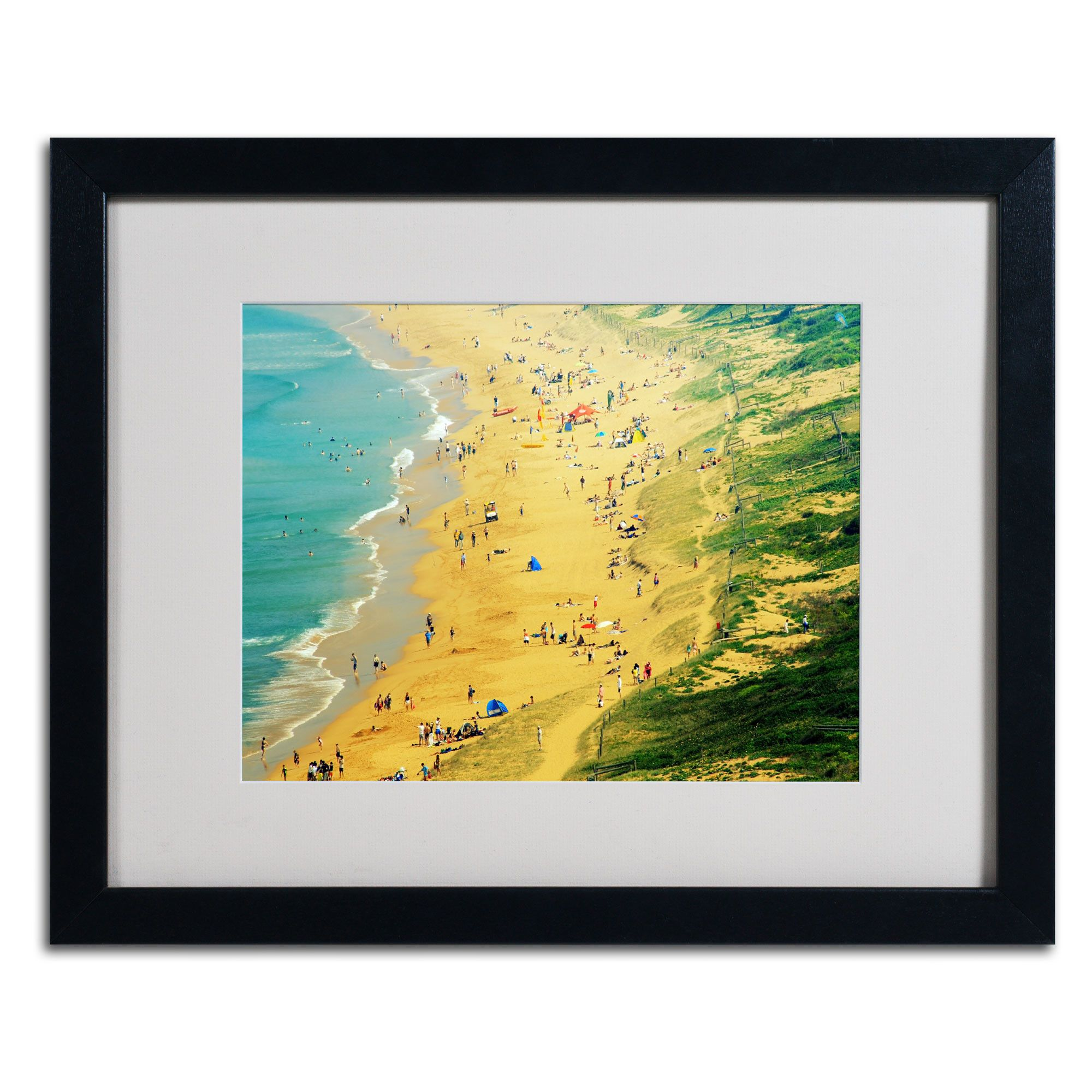 Life is a Beach by Beata Czyzowska Young Matted Framed Photographic Print