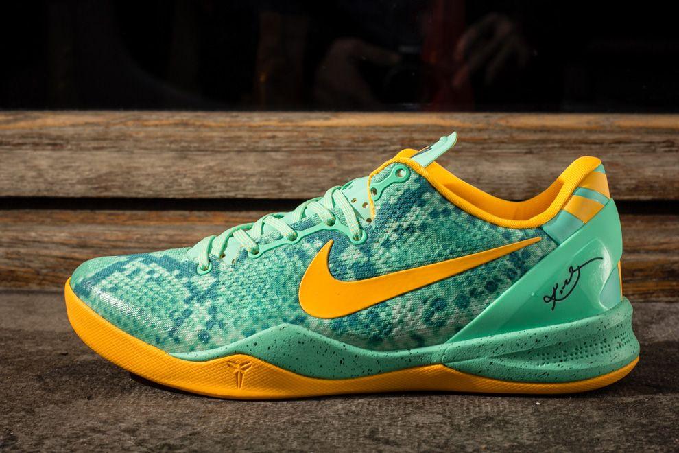 "4207f580a7a8 Releasing  Nike Kobe 8 System ""Green Glowâ"