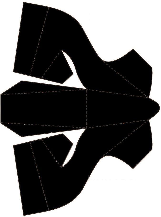 шаблон выкройка открытки туфли известность