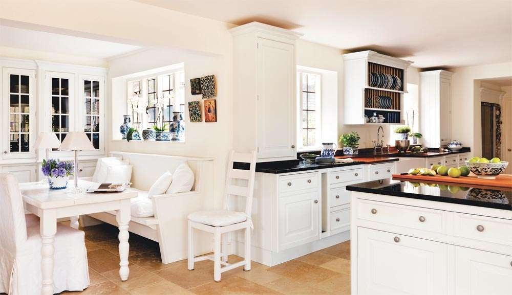 L Shaped Kitchen Dining Room