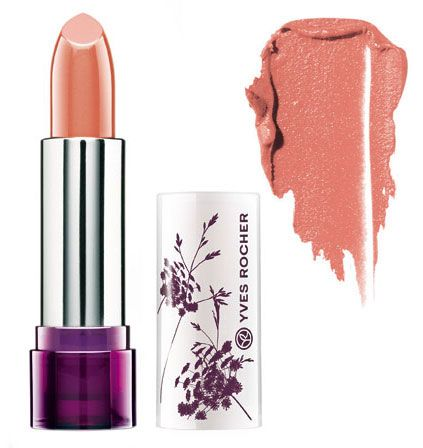 Peche color lipstick from Yves Rocher new collection