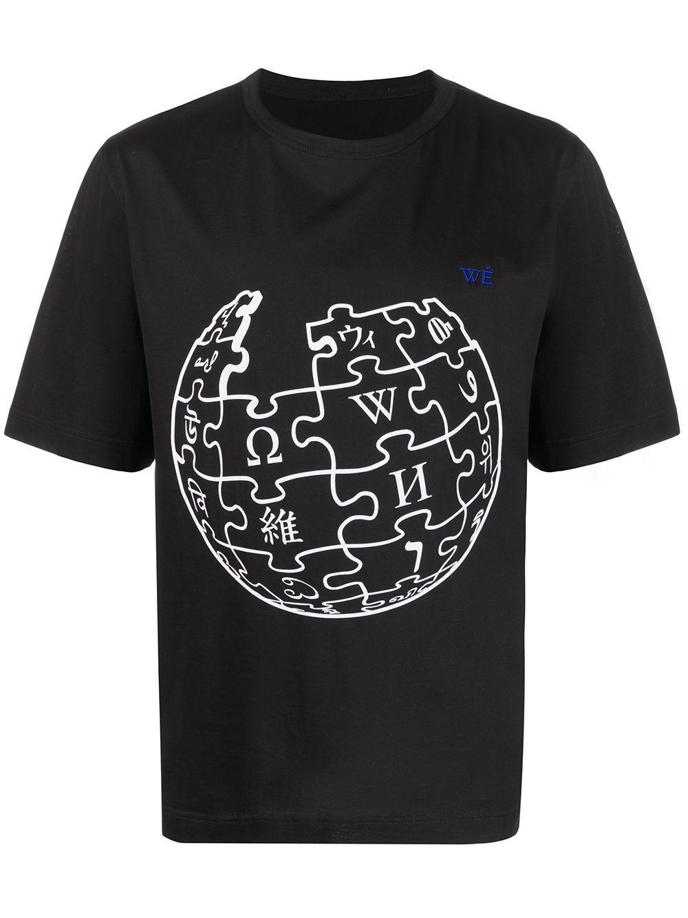 Etudes Unity Sphere Wikipedia Graphic Print T Shirt Farfetch In 2020 T Shirt Print T Shirt Shirts