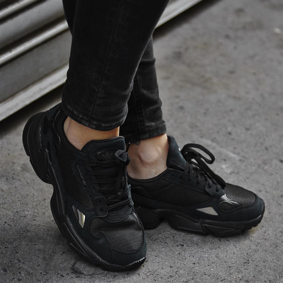 adidas Falcon Trainers Core Black Grey