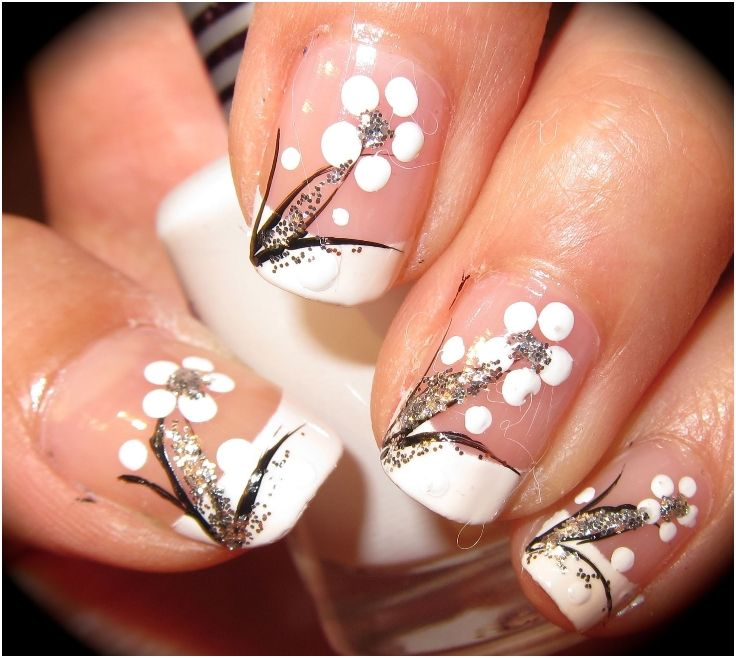 Top 10 Spring Welcoming Floral Nail Art Tutorials | Art tutorials ...