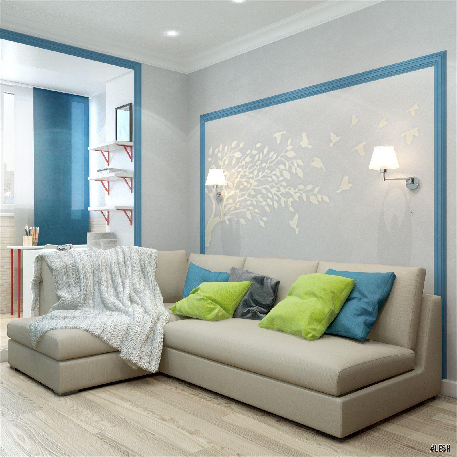 Интерьер жилого дома Галерея 3dddru: Дизайн квартиры в ЖК «Академ-Парк»