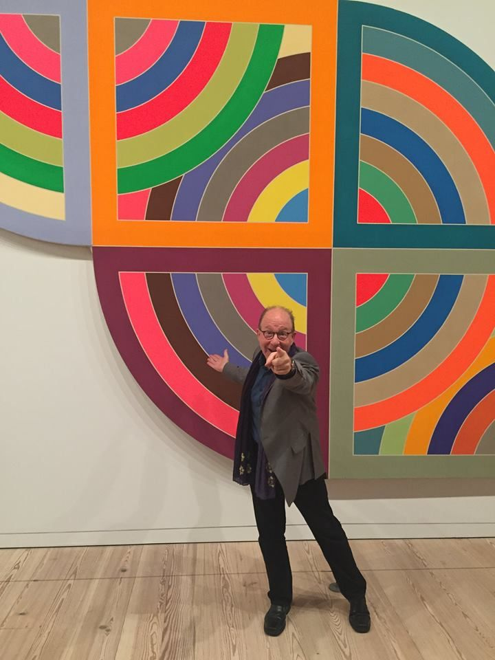 Frank stella artist paintings retrospective exhibition for Frank stella peinture