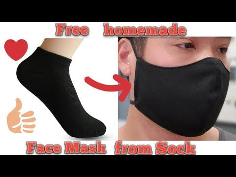 Photo of How to make Face Mask from Sock / Sock Face Mask No Sew, DIY