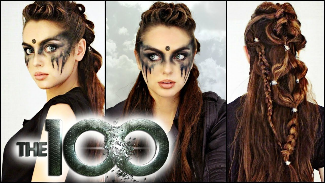 Commander Lexa Hair & Makeup Tutorial! The 100 Makeup