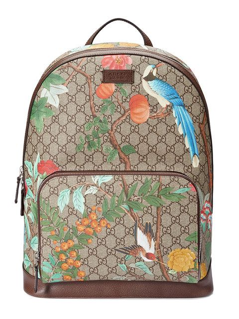 9130a72d96864a GUCCI Gucci Tian GG Supreme backpack. #gucci #bags #leather #canvas #nylon # backpacks #