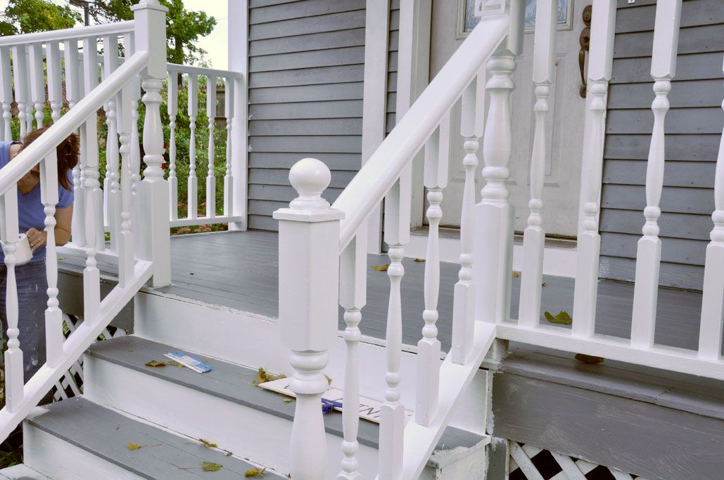 Rainy Day Renovations Front Porch Painting By Wan Chi