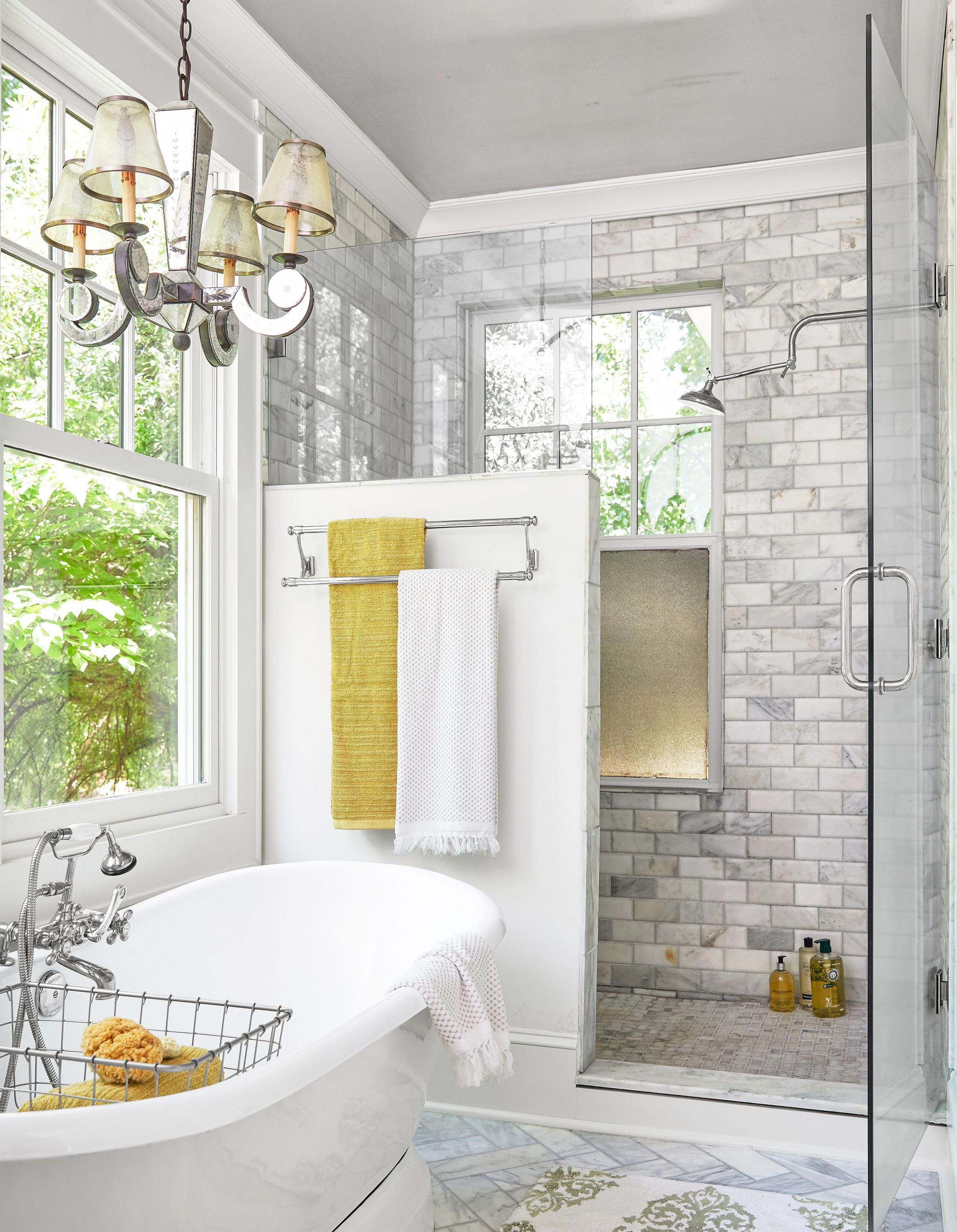 The New Master Suite Includes A Marble Lined Bath With A Cast Iron