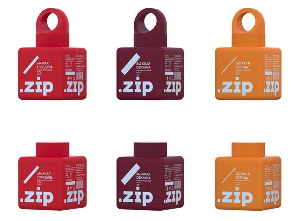 Bare Bound Branding : string meat packaging