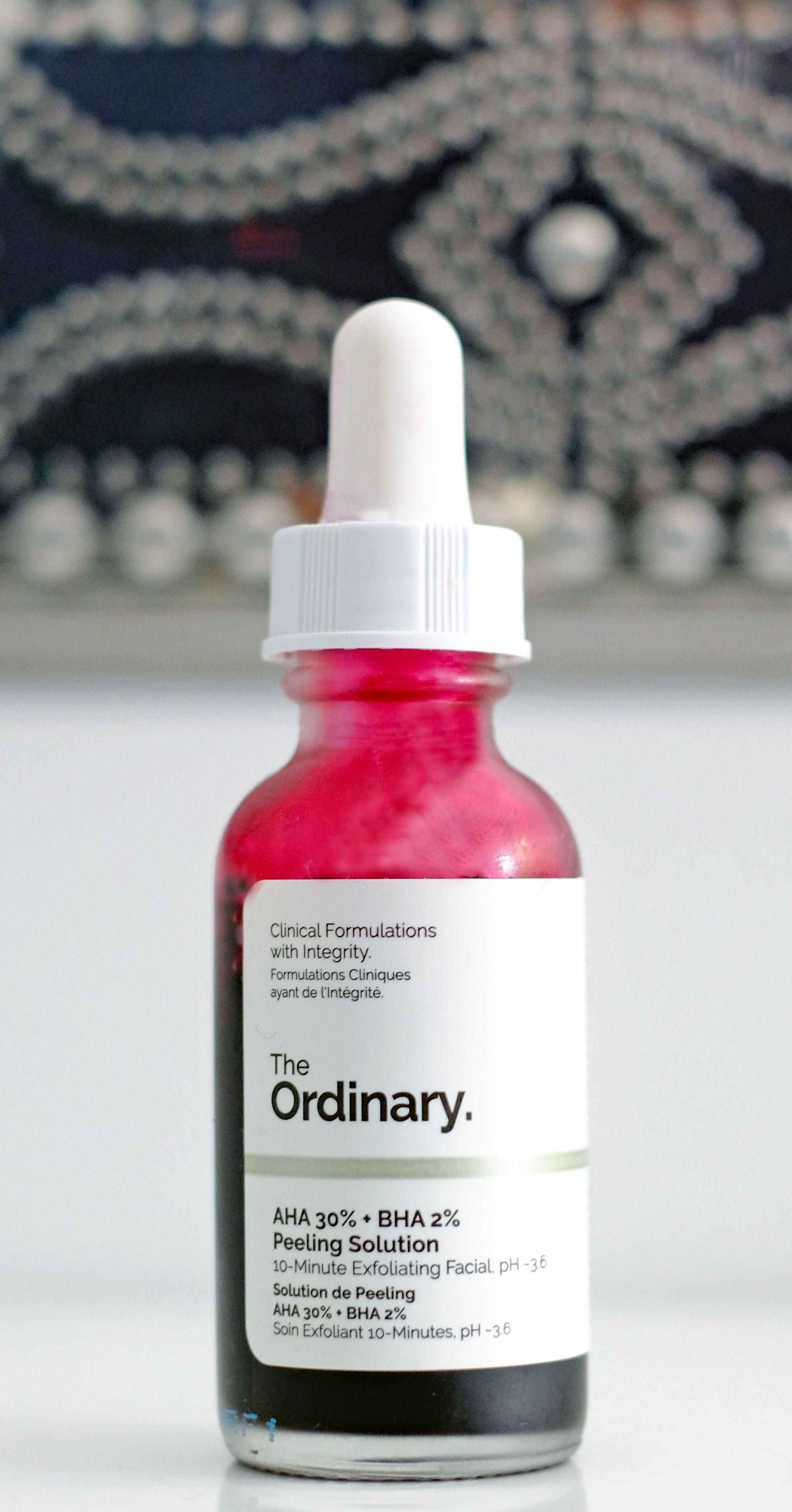Fruchtsäuren Behandlung von The Ordinary by Deciem AHA 30