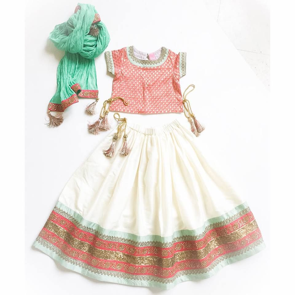 bef67785f0c Get a head start on finding your baby girl the perfect Indian outfit for  Wedding Season! Shop more styles here for more details please whats-app us  at + 91 ...