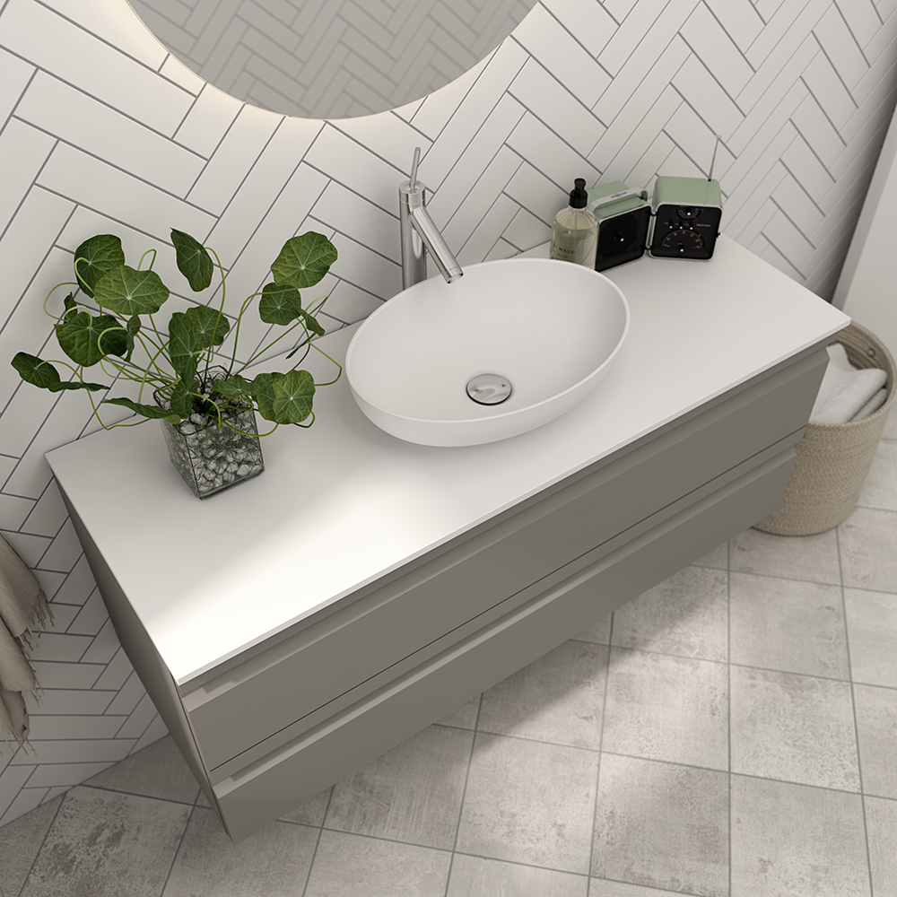 The Oval Romantic Sonate Washbasin Is Designed In Keeping With Contemporary Trends While Also Meeting Washbasin Design Diy Bathroom Makeover Basin Vanity Unit