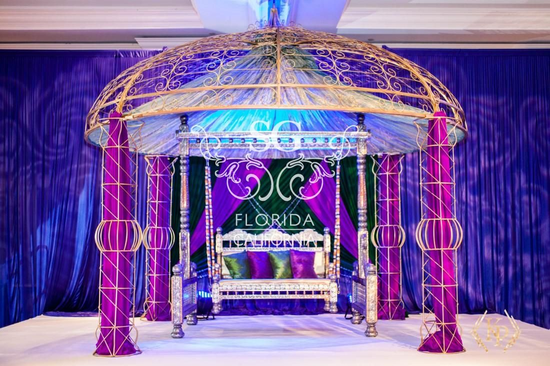 Suhaag Garden Florida Indian Wedding Decorator San Fransisco