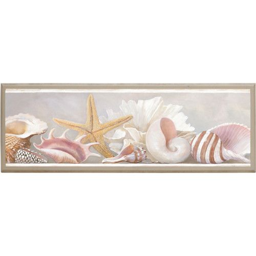 Found it at Wayfair.ca Starfish and Shells Framed