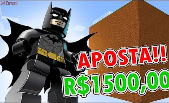 Minecraft: CUBÃO LEGO BATMAN !! ( VALENDO 1500 REAIS!!)