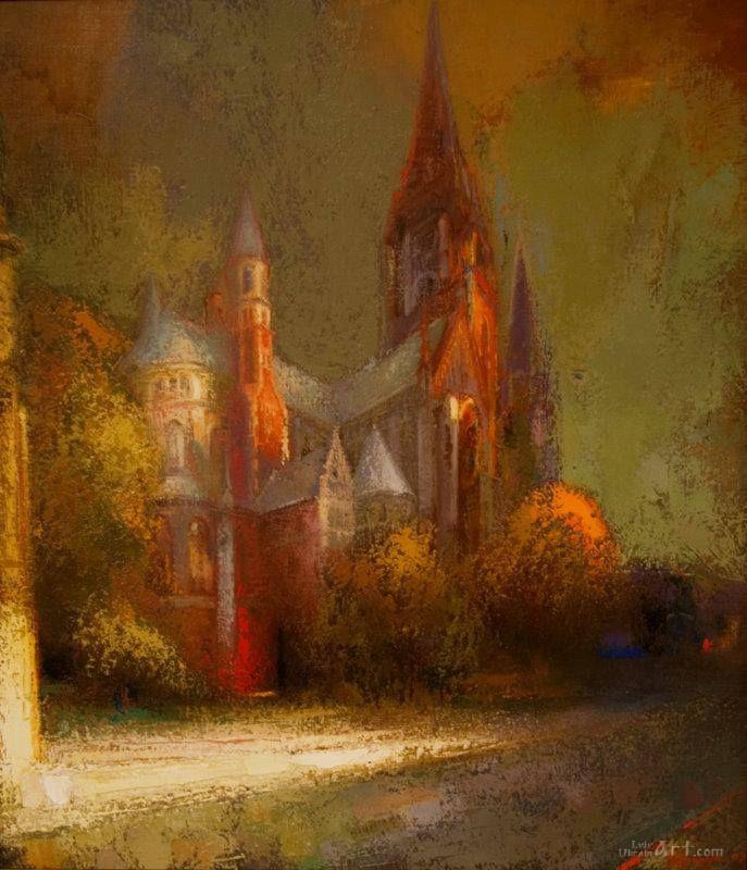 """"""" Church"""" by Vasyl Fedoruk , Ukraine , from Iryna"""